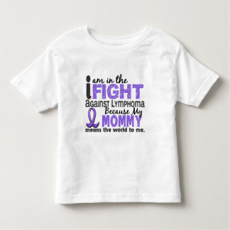 Mommy Means World To Me H Lymphoma Toddler T-shirt