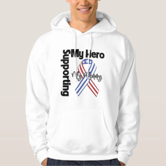 Mommy - Military Supporting My Hero Hoodie