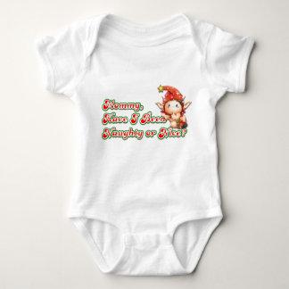 Mommy, Naughty or Nice? Baby Bodysuit