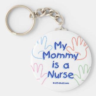 Mommy Nurse Hands Keychain