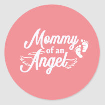 Mommy of an Angel Miscarriage Stickers