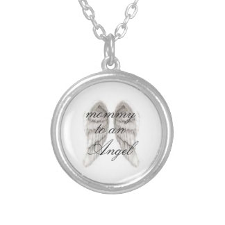 mommy of an angel necklace