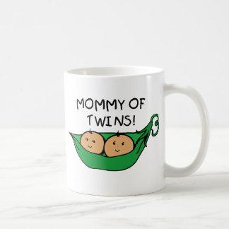 Mommy of Twin Pod Coffee Mugs