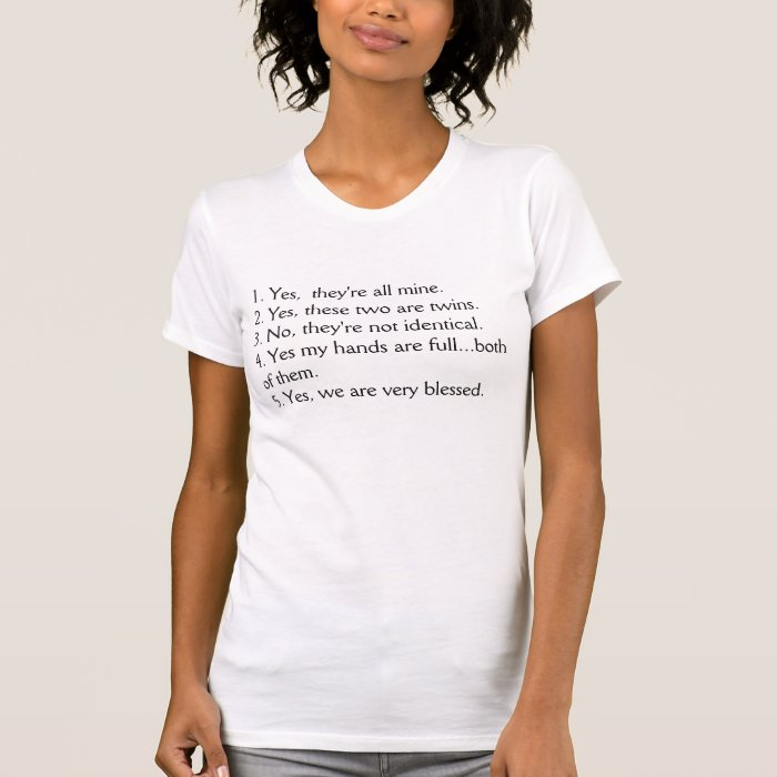 Mommy of Twins T-Shirt
