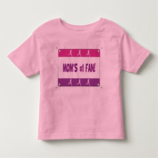 Mommy or Daddy's # 1 Fan Toddler T-shirt