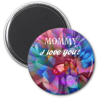 Mommy.PNG 2 Inch Round Magnet