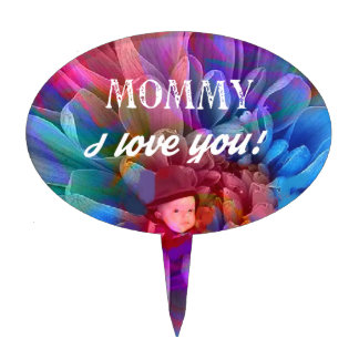 Mommy.PNG Cake Topper