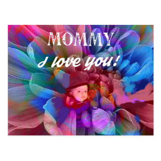 Mommy.PNG Postcard