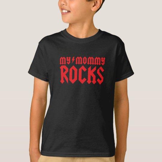mommy rocks playera