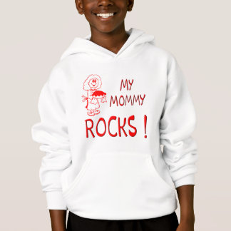 Mommy Rocks ! (red) Hoodie