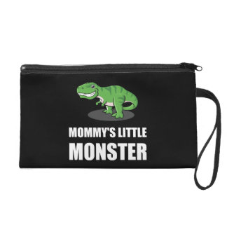 Mommy?s Little Monster Wristlet Purse