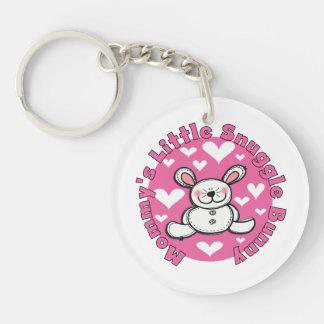 Mommy s Little Snuggle Bunny Acrylic Key Chain