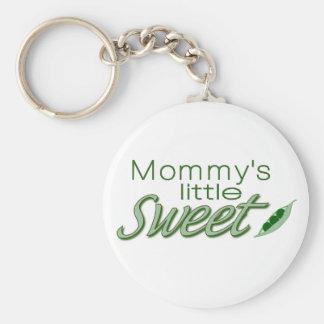 Mommy s little sweet pea keychain