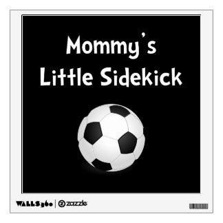 Mommy�s Sidekick Soccer Wall Decal