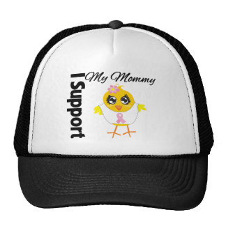 Mommy  Support Breast Cancer Trucker Hat