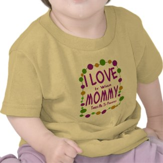 Mommy Takes Me To Parades shirt