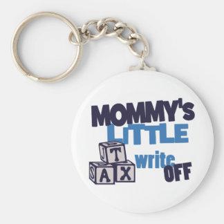 Mommy Tax Write Off Basic Round Button Keychain