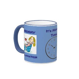 Mommy Tiime! Ringer Mug