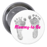 Mommy-to-Be 3 Inch Round Button