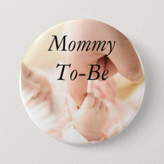 Mommy to be Baby Shower Button