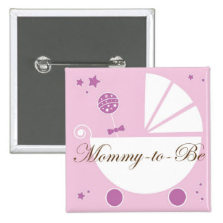 Mommy To Be Baby Shower Pin