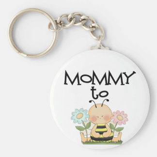 MOMMY TO BE/Bee Keychain