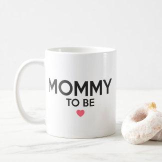 Mommy To Be Cute Print Coffee Mug
