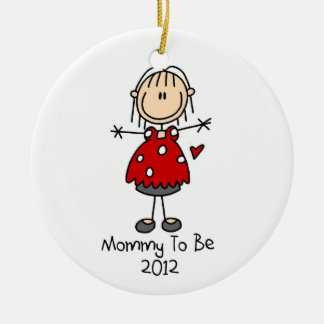 Mommy To Be Dated 2012  Keepsake Ornament