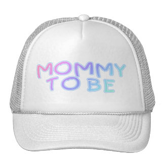 Mommy To Be Trucker Hat