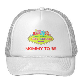 MOMMY TO BE LAS VEGAS BABY SHOWER Hat