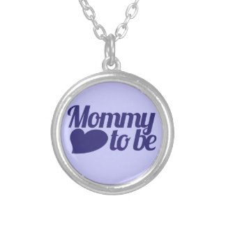 Mommy to be personalized necklace