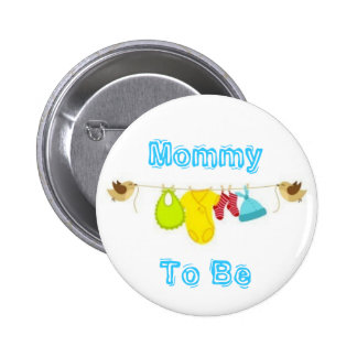 Mommy To Be Pinback Button