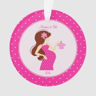 Mommy to Be Pregnancy Personalized Ornament