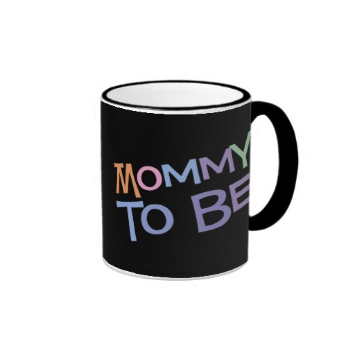 Mommy To Be Ringer Coffee Mug