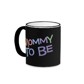 Mommy To Be Ringer Mug