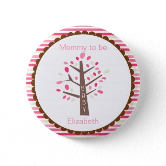 Mommy To Be Tree Button zazzle_button