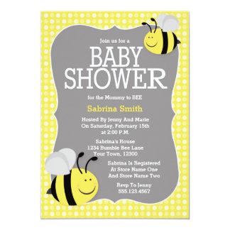 Mommy To Bee Invitations Announcements Zazzle