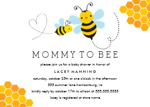 Mommy to bee invitations zazzle mommy to bee baby shower invitation filmwisefo