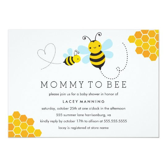 Mommy to bee baby shower invitation zazzle mommy to bee baby shower invitation filmwisefo