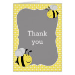 Mommy to Bee Baby Shower Thank You Card