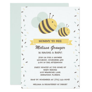 Mommy to bee invitations announcements zazzle mommy to bee bumblebee baby shower invitation filmwisefo Choice Image