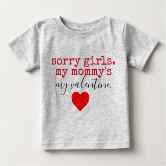 Mommy Valentine Baby T Shirt