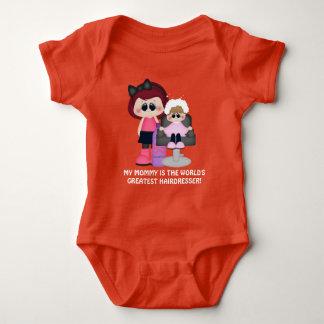 Mommy world's greatest hairdresser baby bodysuit