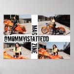 @mommyistattedd Magazine Poster