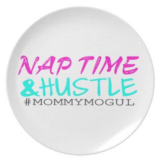 #MommyMogul del tiempo y de la prisa de la siesta Plato Para Fiesta