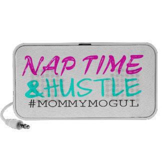 #MommyMogul del tiempo y de la prisa de la siesta Portátil Altavoz