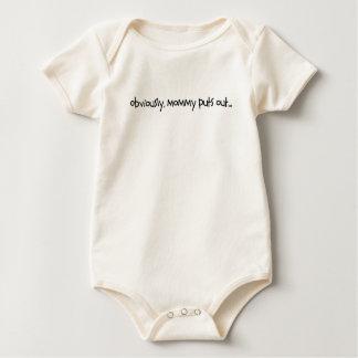 mommyputsout baby bodysuit