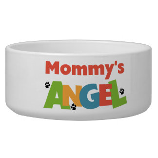 Mommy's Angel Pet Dish