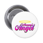 Mommy's Angel Pinback Buttons