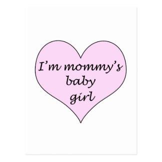 Mommy's Baby Girl Postcard